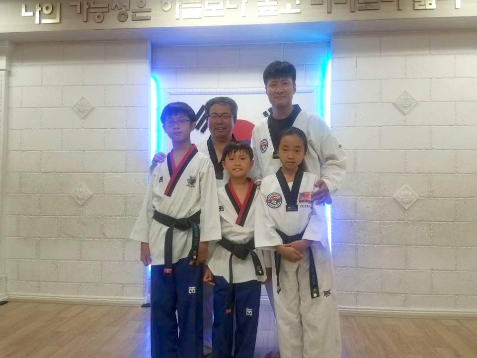 With Master Kwon